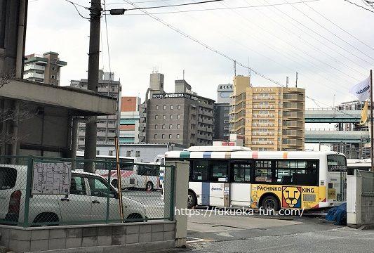 西鉄バス 博多営業所