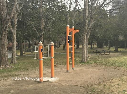 健康器具のある公園 福岡