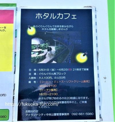 ほたる 福岡市内 場所