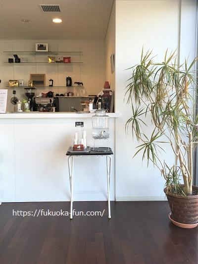 お客が少ないけどおいしいコーヒーショップ 福岡