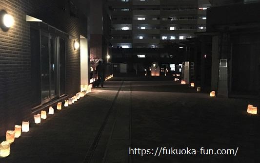 大浜公民館 灯明祭り