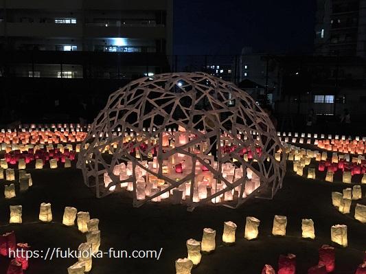 灯明祭り 博多