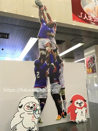 ラグビー ワールドカップ福岡